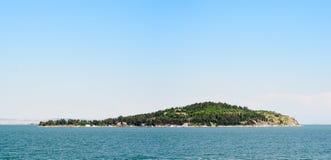 остров одно Стоковое фото RF