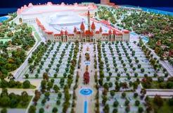 Остров парка атракционов мечт стоковое изображение