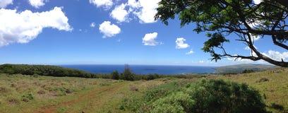 Остров пасхи ландшафта Стоковые Изображения RF