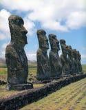 остров пасхи Стоковая Фотография RF