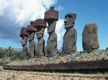 остров пасхи стоковые изображения rf