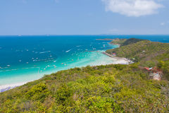 Остров Паттайя larn Koh стоковое фото
