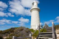 Остров Перт Rottnest маяка Bathurst стоковая фотография rf