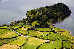 остров Португалия Азорских островов Стоковое Фото