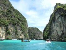 Остров природы для перемещения людей в Таиланде Стоковая Фотография