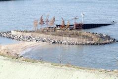 Остров птицы в парке Бруклинского моста Стоковая Фотография