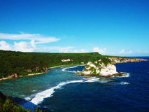 Остров птицы, Сайпан стоковое изображение rf