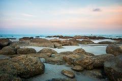 остров пляжа тропический Стоковое Изображение