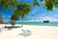 Остров рая в провинции Trang, Таиланде Стоковые Фотографии RF