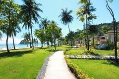 Остров рая в провинции Trang, Таиланде Стоковая Фотография