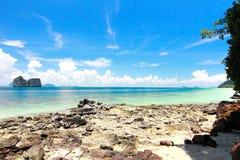 Остров рая в провинции Trang, Таиланде Стоковые Изображения