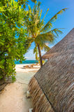 Остров рая тропический Стоковое фото RF