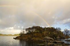 Остров радуги Стоковое Изображение RF