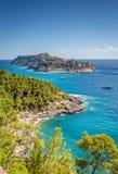 Остров Сан Nicola: Острова Tremiti, Адриатическое море, Италия Стоковые Фото