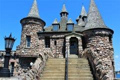 остров сердца замока boldt обнаружил местонахождение США Стоковые Изображения