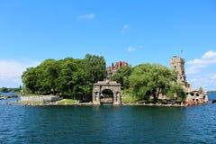 остров сердца замока boldt обнаружил местонахождение США Стоковые Фото