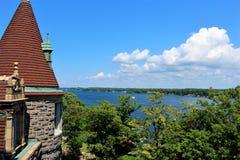 остров сердца замока boldt обнаружил местонахождение США Стоковая Фотография