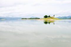 остров сиротливый стоковые изображения rf
