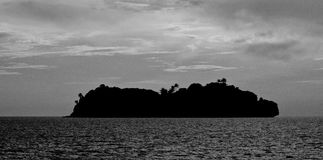 остров сиротливый Стоковая Фотография RF