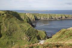 Остров с Malin умоляет, Donegal, Ирландия Стоковые Изображения