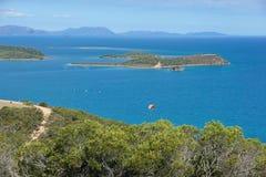 Остров точки зрения от города Новой Каледонии Noumea Стоковое Изображение
