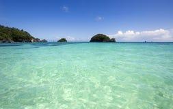 остров тропический Стоковые Изображения