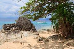 остров тропический El Nido philippines Стоковое Изображение