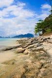 остров тропический El Nido philippines Стоковое фото RF