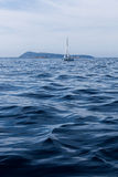 Остров тумана в Адриатическом море Стоковые Изображения