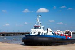 Остров Уайт ховеркрафта Ryde стоковое изображение rf