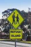 Остров убежища Стоковые Изображения RF