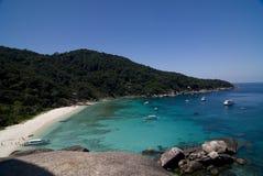 остров утки donald залива similan стоковое изображение rf