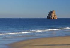 остров Франции пляжа Стоковое Изображение