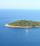 остров Хорватии Стоковая Фотография RF