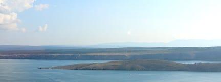 Остров Хорватия Pag Стоковое Изображение RF