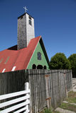 остров церков chiloe стоковое изображение rf