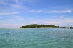 Остров циновки Koh - Chaweng - Таиланд Стоковые Изображения RF