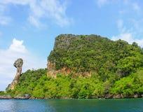 Остров цыпленка Таиланда Стоковое Фото