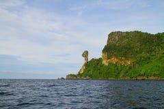 Остров цыпленка - Krabi - Таиланд Стоковое Изображение RF