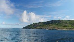 Остров через океан видеоматериал