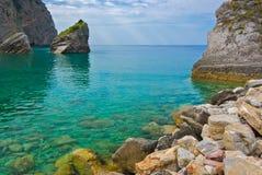 Остров Черногории St Nicholas Стоковое Фото