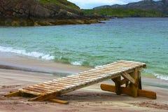 остров Шотландия handa пляжа Стоковая Фотография