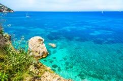 Остров Эльбы, Тоскана, Италия Стоковое Изображение RF