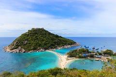 Остров юаней Nang - рай в Таиланде Стоковая Фотография