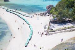 Остров юаней Nang, Таиланд - 12-ое июня 2016: seasacpe Koh Nan Стоковое фото RF