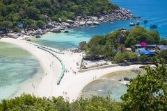 Остров юаней Nang, Таиланд - 12-ое июня 2016: seasacpe Koh Nan Стоковые Изображения
