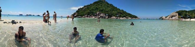 Остров юаней Nang Таиланд Стоковая Фотография