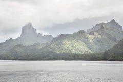 Остров 1 Южной части Тихого океана Стоковые Изображения RF