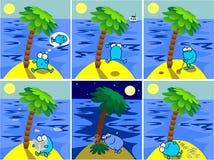 остров бесплатная иллюстрация