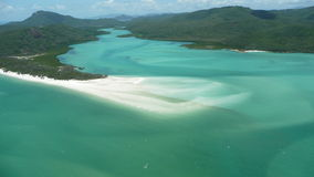 остров 2 whitehaven Стоковые Изображения RF